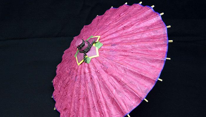 上から見た出雲民藝紙ミニ和傘