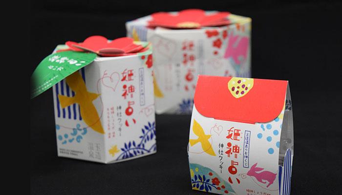 姫神占い神社クッキー パッケージ